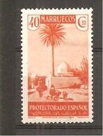 Marruecos Español - Edifil 155 - Yvert 225 (MH/*) - Marruecos Español