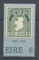 Irlande 1972 N°288 Neuf ** 30 Ans Du Timbre Irlandais - 1949-... República Irlandése