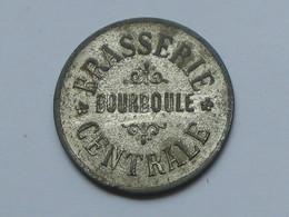 Jeton 40 Cts - Brasserie Central -BOURBOULE  **** EN ACHAT IMMEDIAT **** - Professionals / Firms