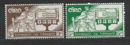 Irlande 1958 N°140/141 Neufs ** MNH Constitution - Nuovi