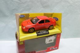 Welly - SUBARU IMPREZA WRX STI 2002 Rouge Réf. 697871 BO 1/38 - Cars & 4-wheels