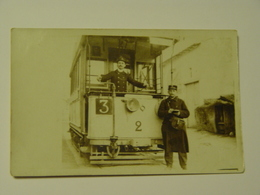 MEURTHE ET MOSELLE-CARTE PHOTO TRAMWAY NANCY-ANIMEE SELECTION - Nancy