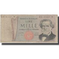 Billet, Italie, 1000 Lire, 1973, 1973, KM:101a, TB+ - [ 2] 1946-… : Républic