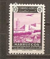 Marruecos Español - Edifil 298 - Yvert Aéreo 57 (MNH/**) - Marruecos Español