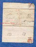 Courrier Du Ministre De La Guerre - 13 Messidor An 9 De La République - Signé Maréchal BERTHIER Ministre De Napoléon - Postmark Collection (Covers)