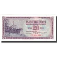 Billet, Yougoslavie, 20 Dinara, 1981, 1981-11-04, KM:85, SPL+ - Yugoslavia
