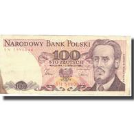Billet, Pologne, 100 Zlotych, 1986, 1986-06-01, KM:143e, TB+ - Poland