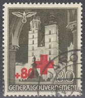 POLONIA, OCCUPAZIONE TEDESCA - 1940 - Yvert 71 Usato, Come Da Immagine. - Occupation 1938-45