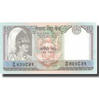 Billet, Népal, 10 Rupees, KM:31a, NEUF - Nepal