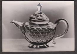 Cut Glass English Teapot Victor & Albert Museum - Unused - Real Photo - Museum