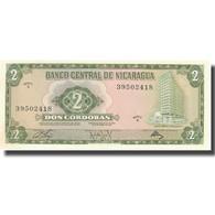 Billet, Nicaragua, 2 Cordobas, 1970, 1970, KM:121a, SPL+ - Nicaragua
