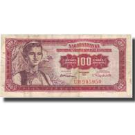 Billet, Yougoslavie, 100 Dinara, 1955, 1955-05-01, KM:69, TB+ - Yugoslavia
