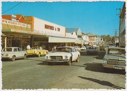 [26] BOONA, Queensland. High Street. Cars / Coches / Voitures. No Escrita. / Not Write / Non écrite. - Australia