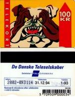 TARJETA TELEFONICA DE DINAMARCA. TDJD010c, BULLDOG, CN2002, 1.93 (081) - Dinamarca
