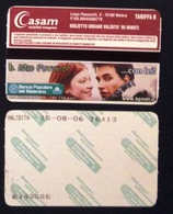 Used Tram's Ticket, Biglietto Tram Matera- - Tramways