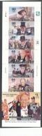 MARSHALL Islands CHURCHILL Booklet Issue -6 Singles & Mini Sheet MNH - Sir Winston Churchill