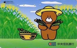 Télécarte Japon / 110-016 - BD Comics - Animal Série OURS CHUO BEAR ** Promenade Epi De Maïs ** - Japan Phonecard - 567 - Comics