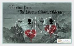 H01 Alderney 2018 Stampex Valentine Hearts MNH Postfrisch - Alderney