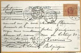_Op 586: N° 115: MELBOURNE 25NOV08> Verviers Via BRUXELLE's : Birds's Eye View Of The City Of Melbourne - 1850-1912 Victoria