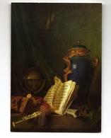 """POSTCARD - """"Lapis Vase, Globe, Pipes"""" Detail - Roland De La Porte - Art - Paintings"""