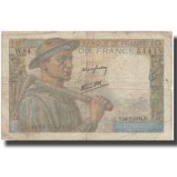 France, 10 Francs, 10 F 1941-1949 ''Mineur'', 1944, 1944-06-22, B+ - 1871-1952 Anciens Francs Circulés Au XXème