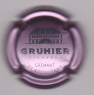 Capsule Mousseux ( GRUHIER , Crémant De Bourgogne ) {S30-18} - Sparkling Wine