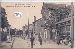 LE PARC SAINT-MAUR- LE COMPTOIR DE LA POSTE- MAISON BERNOT- AVENUE DE LA GRANDE CEINTURE - Saint Maur Des Fosses