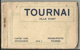 TOURNAI Carnet De 10 Cartes Postales éditions Phono-Photo à Tournai - Tournai