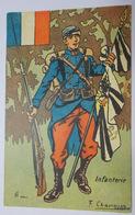 Infanterie-Illustration De CHamonin(?) - Régiments