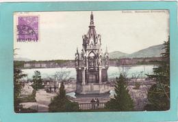 Old Postcard Of Monument Brunswick,Geneve,Geneva, Switzerland,N14. - GE Geneva