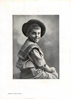 Portrait D'un Enfant - Imprimerie Chapuis Bienne - Tirage D'imprimerie De L'époque ( Dimension 28 X 20 Cm ) - Reproductions
