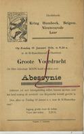 Humbeek - Laar (Zemst ) - Beigem - Nieuwenrode :1936 Groote Voordrach Davidsfonds  ( Zie Detail : Formaat  21 X 14 Cm  ) - Unclassified