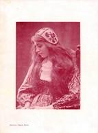 Portrait D'une Femme - Imprimerie Chapuis Bienne - Biel - Tirage D'imprimerie De L'époque ( Dimension 28 X 20 Cm ) - Reproductions