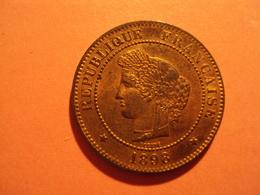 5 CENTIMES CERES ANNEE 1898 A ETAT SPL A VENDRE 50 EUR AU LIEU DE 80 EUR. - France