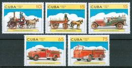 1998 Cuba Pompieri Firefighters Pompiers Celebri Celebres MNH** C20 - Feuerwehr