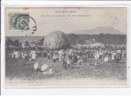 SAINT DIE : Souvenir Du 14 Juillet - La Fête Aérostatique (ballon Rond - Aviation) - Très Bon état - Saint Die