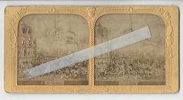ST CLOUD GUERRE 1870 THEATRE ET DIVERS Circa 1870 PHOTO STEREO A LA LUMIERE /FREE SHIP. R - Photos Stéréoscopiques
