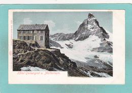 Old Postcard Of Hotel Gornergrat U Matterhorn Switzerland,N16. - Other