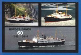 Schiffe; MS Nordstjernen; 60 Jahre - Dampfer