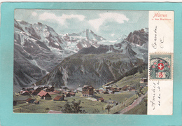 Old Postcard Of Mürren, Berne, Switzerland ,N16. - BE Berne