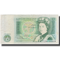 Billet, Grande-Bretagne, 1 Pound, Undated (1978-84), KM:377b, TB - 1952-… : Elizabeth II