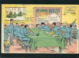CPA - Illustration A. Gaillard - TANKS - Au Foyer Du Soldat - Humour