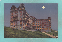 Old Postcard Of Hotel, Rigi-Kulm,Switzerland ,N16. - Other