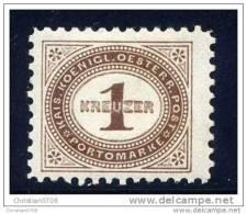 PORTO Mi. 1 A (L 10 1/2) Falz - Postage Due