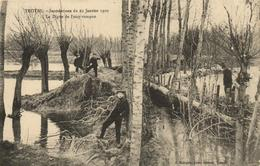 """1 Cpa Troyes """"inondation Janvier 1910"""" - Troyes"""