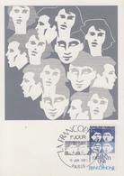 Carte  Maximum  1er  Jour    FRANCE    La  FRANCOPHONIE    1985 - Cartes-Maximum