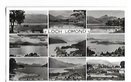 LOCH LOMOND Card Multiview - Scotland