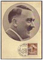 Dt- Reich (006710) Propagandakarte Männer Der Zeit, Der Führer Adolf Hitler, Mit SST Marburg (Steiermark) Deutsch.... - Covers & Documents