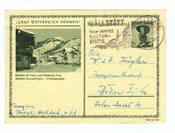 """Österreich, 1952, Bildpostkarte """"Lernt Österreich Kennen""""-Brixen Im Tale Mit Eingedr. S 1,--/Trachten (11430W) - Brixen Im Thale"""