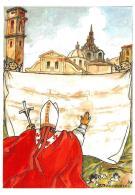 [MD2068] CPM - VISITA DI S.S. GIOVANNI PAOLO II A TORINO PER LA SINDONE - CON ANNULLO 24.5.1998 - NV - Papi